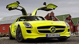 MERCEDEZ SLS AMG E-CELL
