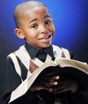 Samuel Green Predicador de 8 anos