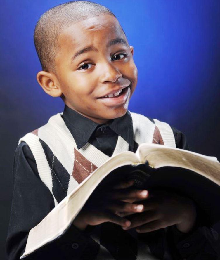 Samuel Green, predicador de 8 años