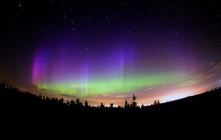 Vea las auroras boreales en directo
