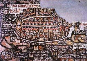 """""""El Mapa de Madaba"""" - Grandes descubrimientos arqueológicos en tierra Santa."""
