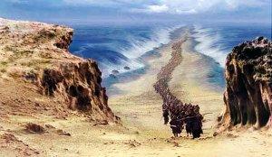 Mar se abrió en el Éxodo
