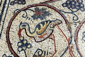 Mosaico cristiano de hace 1.500 años
