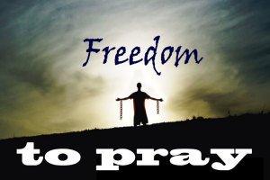 "ha aprobado ""Freedom to Pray"""