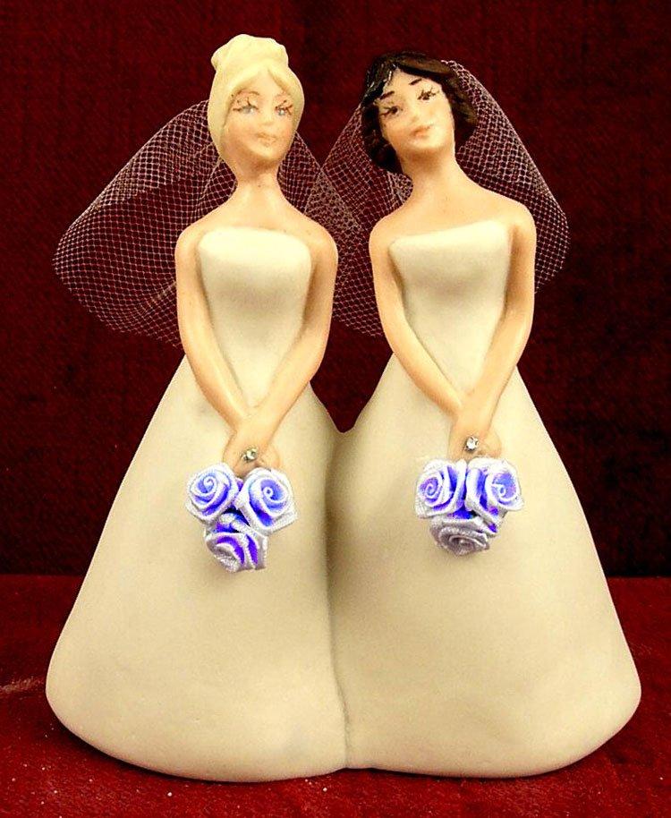 Pastoras lesbianas se casan