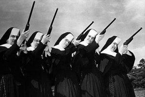 las armas en las iglesias