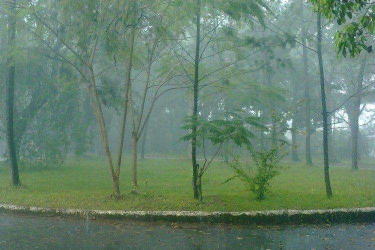 llueve en Texas