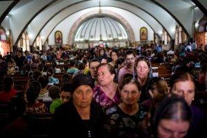 Cristianos iraquíes