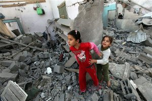 Papá, ¿qué es lo que sucede con Gaza?
