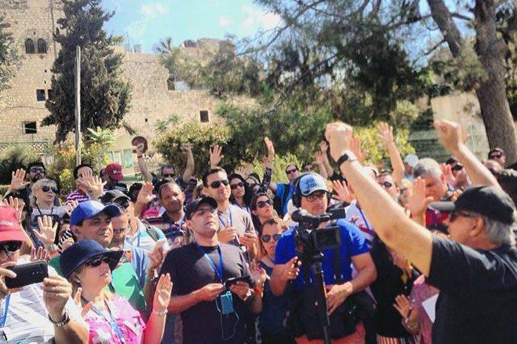 Multitud participa de Marcha para Jesús en Israel