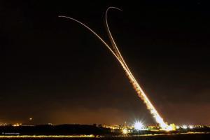 Vea los misiles de Hamas interceptados por Israel