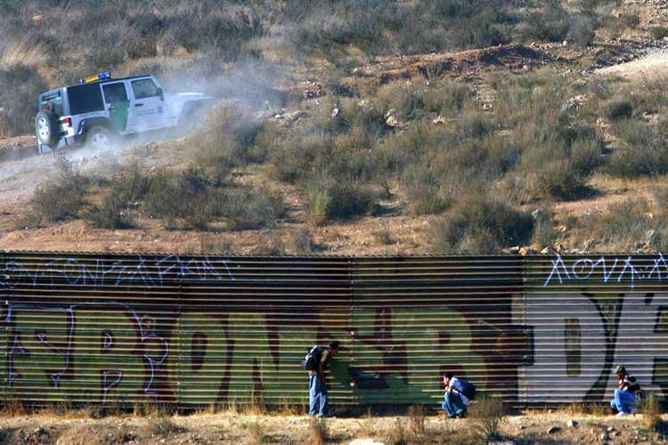 México qué lugar de la frontera entraría ISIS