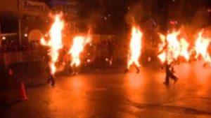 7 sospechosas de brujería son quemadas vivas