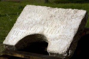 piedra descubierta en Jerusalén