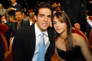 Kaká y Carol Celico