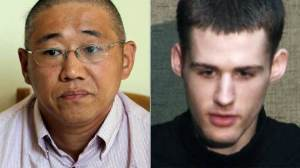 Kenneth Bae y Matthew Todd Miller
