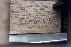 Marcan iglesias cristianas con Símbolos Islámicos