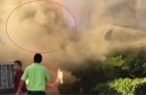Testigos ven el rostro de Jesús en el humo