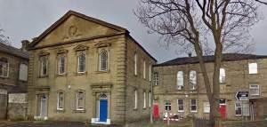 Iglesia Bautista en Burnley