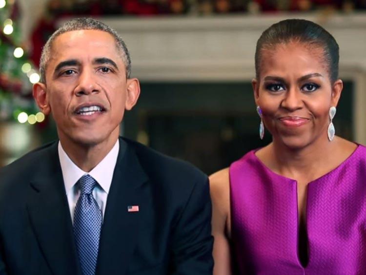 Fotos de la Navidad de los Obama