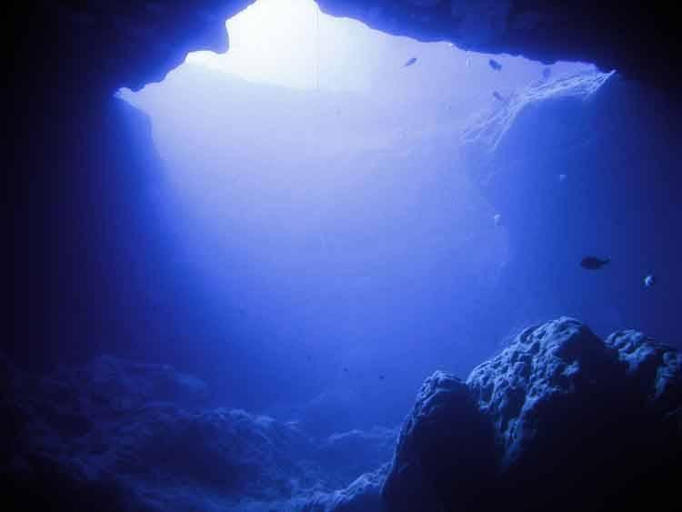 un océano bajo la tierra