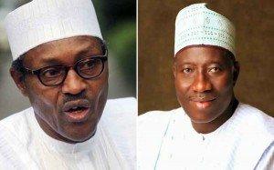 Goodluck Jonathan y Muhammadu Buhari