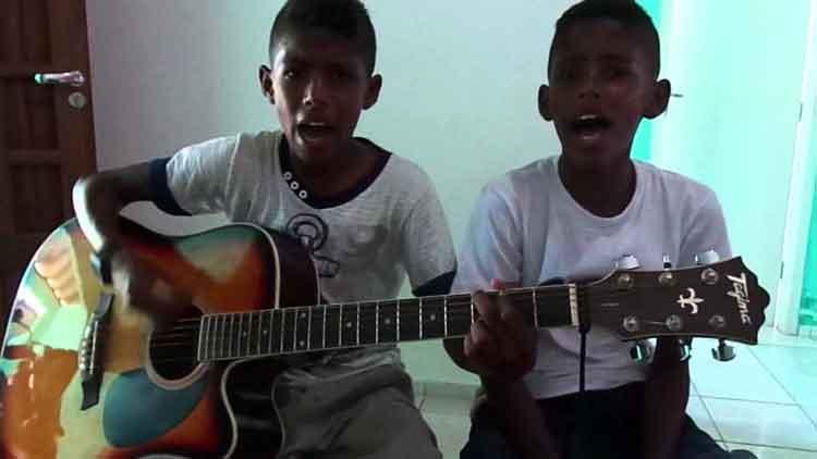 Los niños de Oro Lucas y Daniel