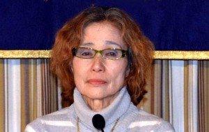 Madre del rehén japonés