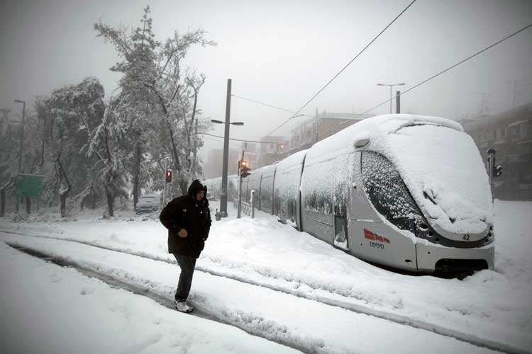"Jerusalén en Modo de ""Pánico Blanco"""