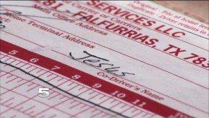 El chofer fue despedido por poner el nombre de Jesús como su asistente en los formularios.