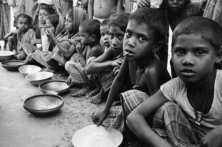 Erradicación de la pobreza de la Biblia en el mundo
