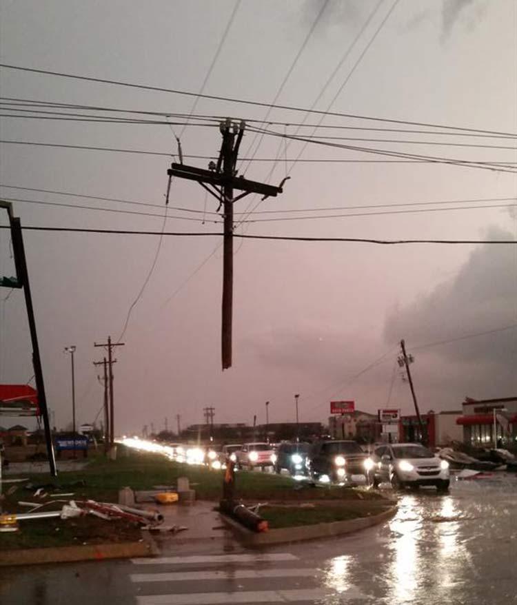 Tornado: encuentra señal de que Dios está