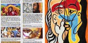 biblia ilustrada a mano