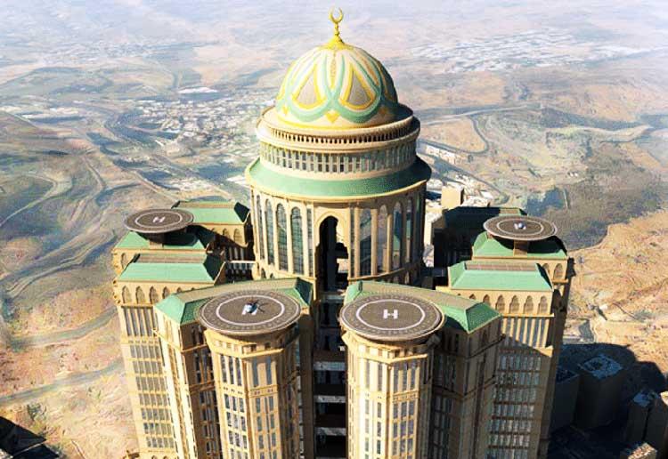 La Meca albergará al hotel más grande del mundo