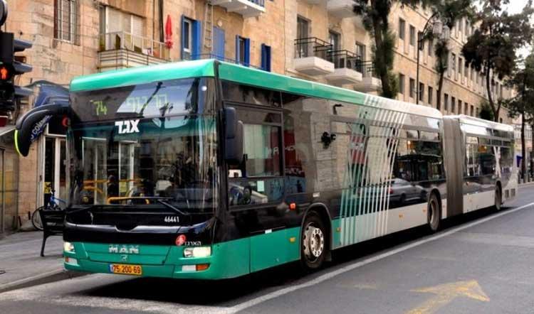 Jerusalén obtiene su autobús del Shabat