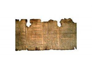 manuscrito bíblico antiguo