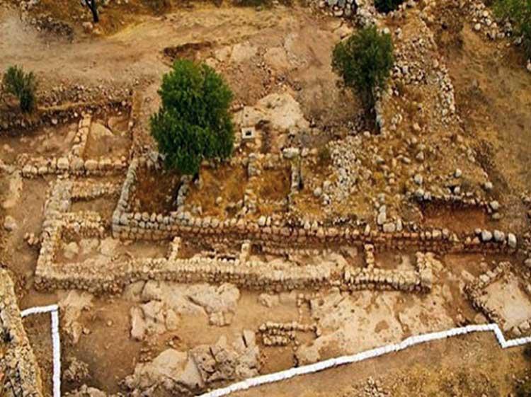 Arqueólogos desentierran la puerta de Goliat