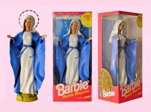 la virgen barbie
