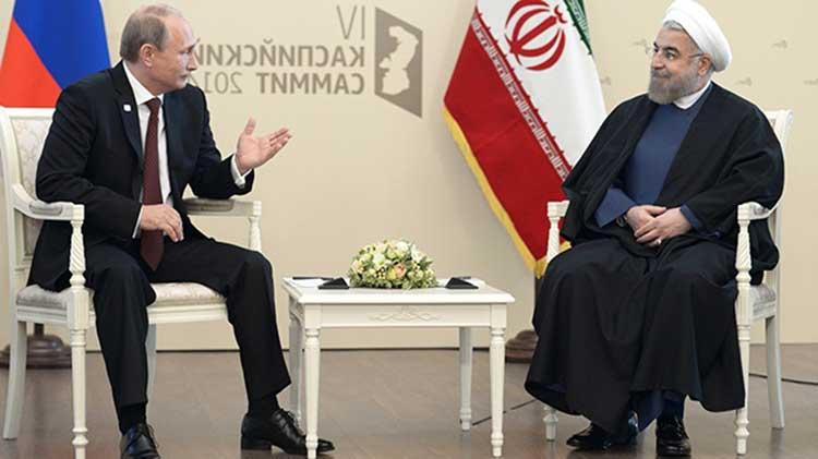 Profetizado, Rusia e Irán en la guerra de Siria