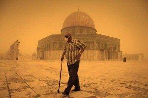 Tormenta en Israel