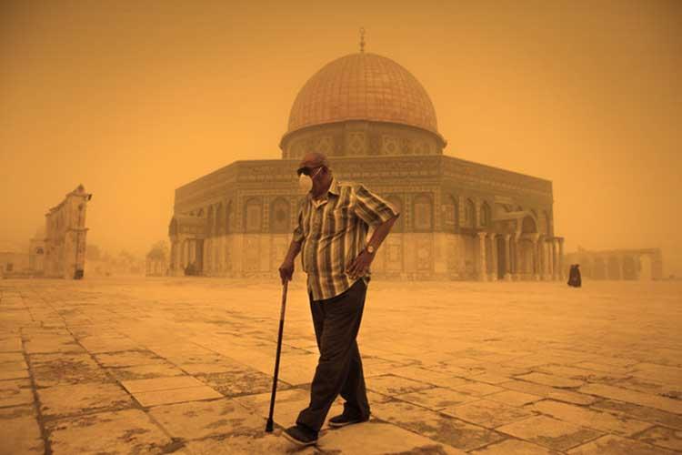 Tormenta en Israel ayuda a hacer un descubrimiento