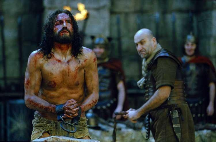 las golpizas a Cristo
