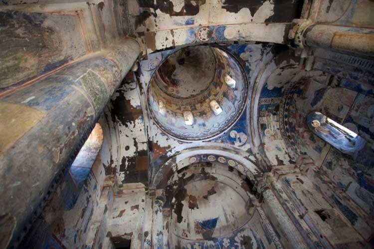Descubren antigua iglesia en ciudad subterránea