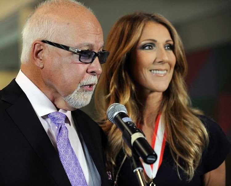 Oran por Celine Dion por la muerte de su esposo