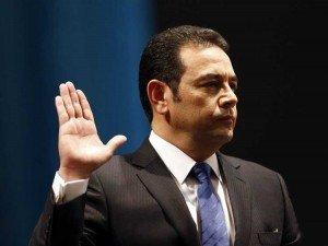 Presidente de Guatemala: Dios nos de sabiduría