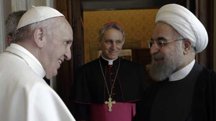 Presidente de Irán pide oración al Papa