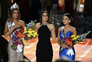 Culpa a la oración por el error de Miss Universo