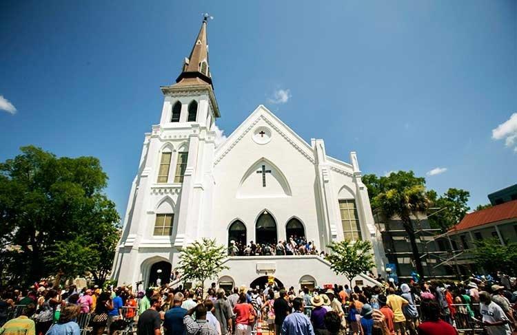 La Iglesia Metodista Episcopal Emmanuel en Charleston,