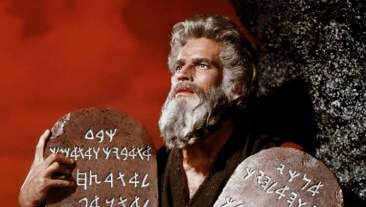 Los Diez Mandamientos – la cuarta más taquillera