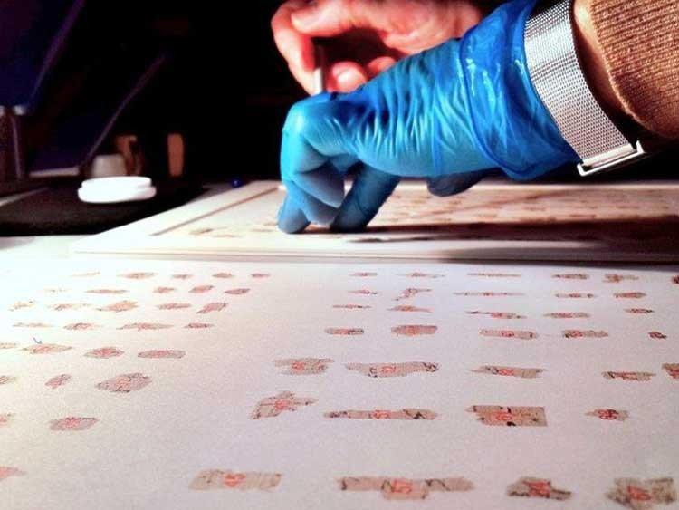 Descifrarán fragmentos de los rollos del Mar Muerto